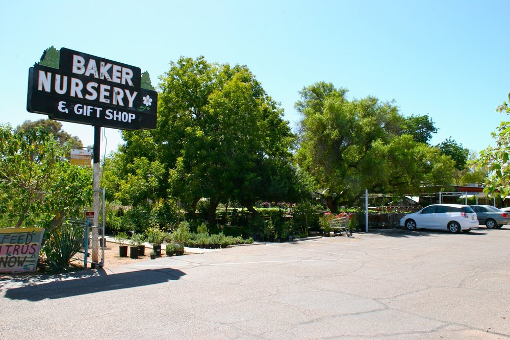 Bakers Nursery Phoenix