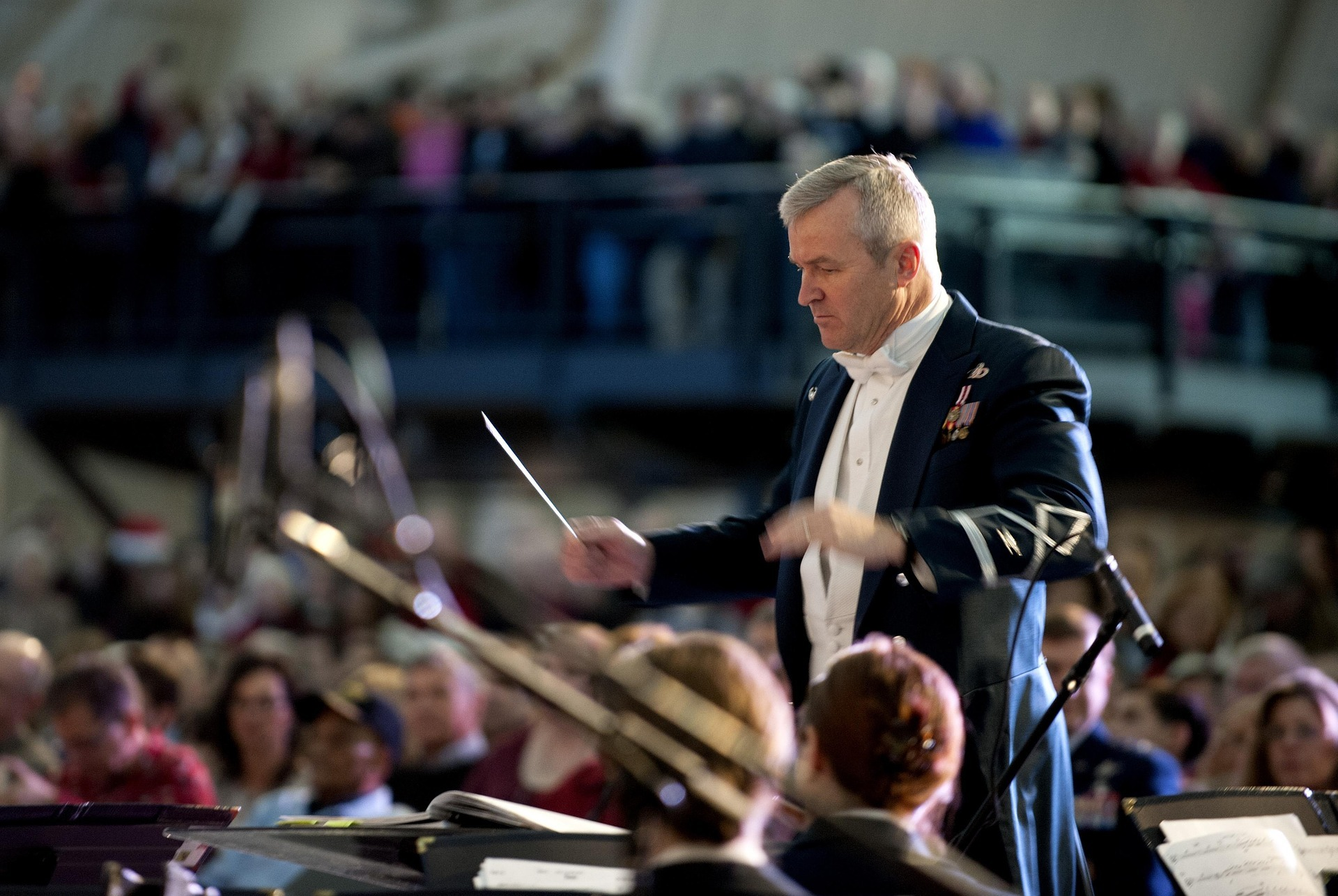 Conductor orchestra