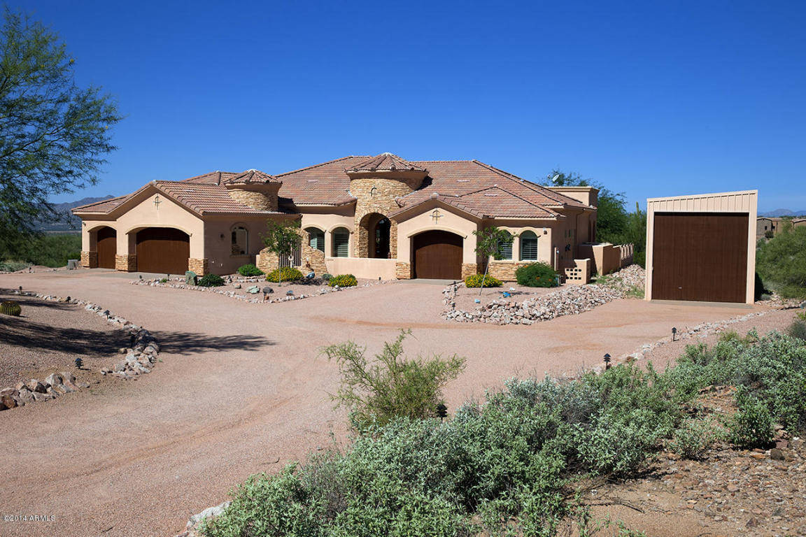 Homes with rv garage or man cave workshop in arizona for Az home builders