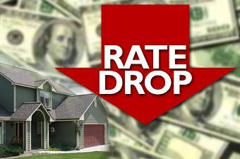 mortgage rate drop