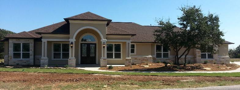 Hill country custom home plans house design plans for Custom ranch home plans