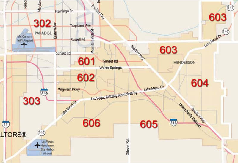 Henderson Real Estate The Mls Map