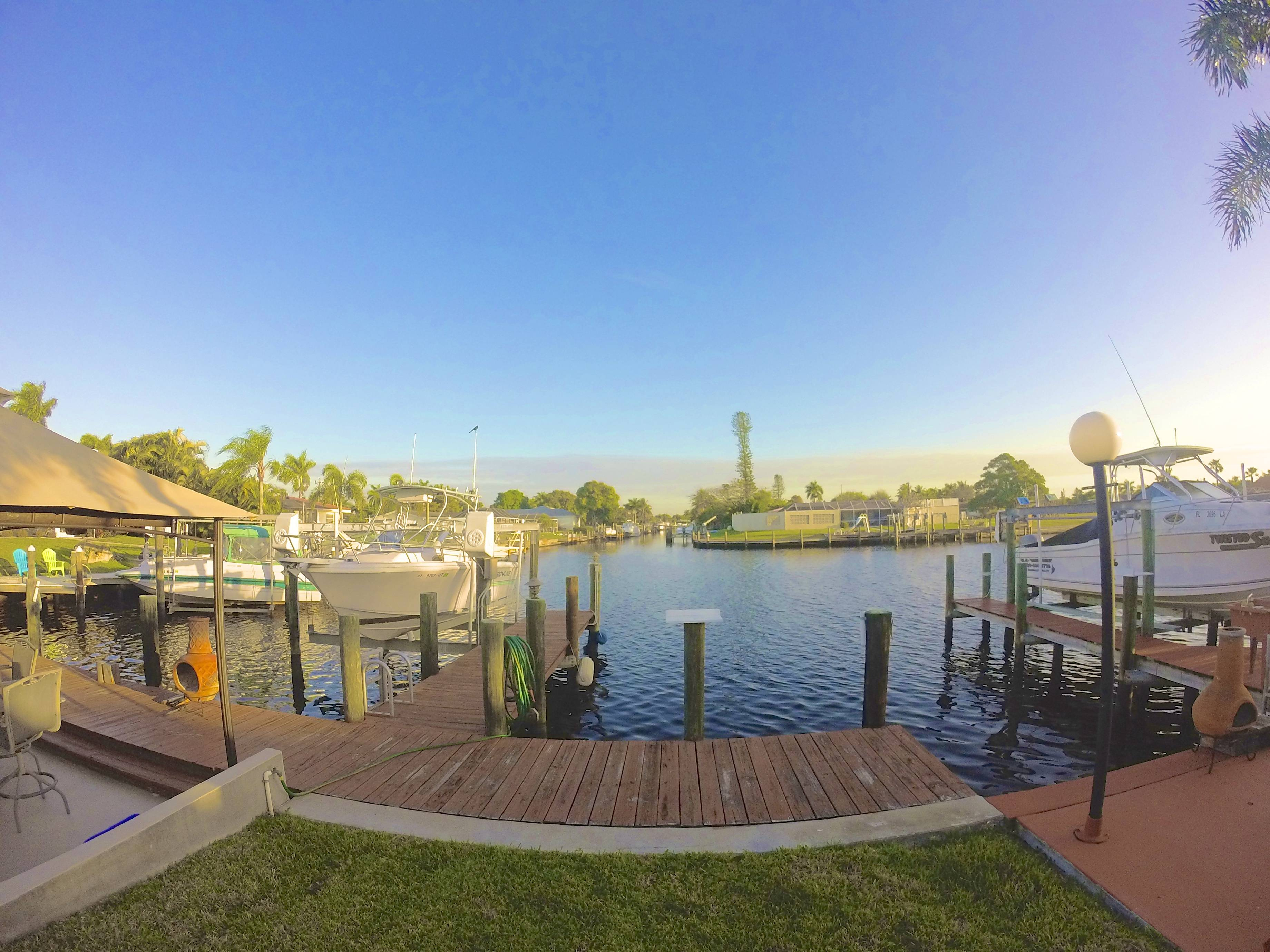Big Water Access Homes In Cape Coral Florida
