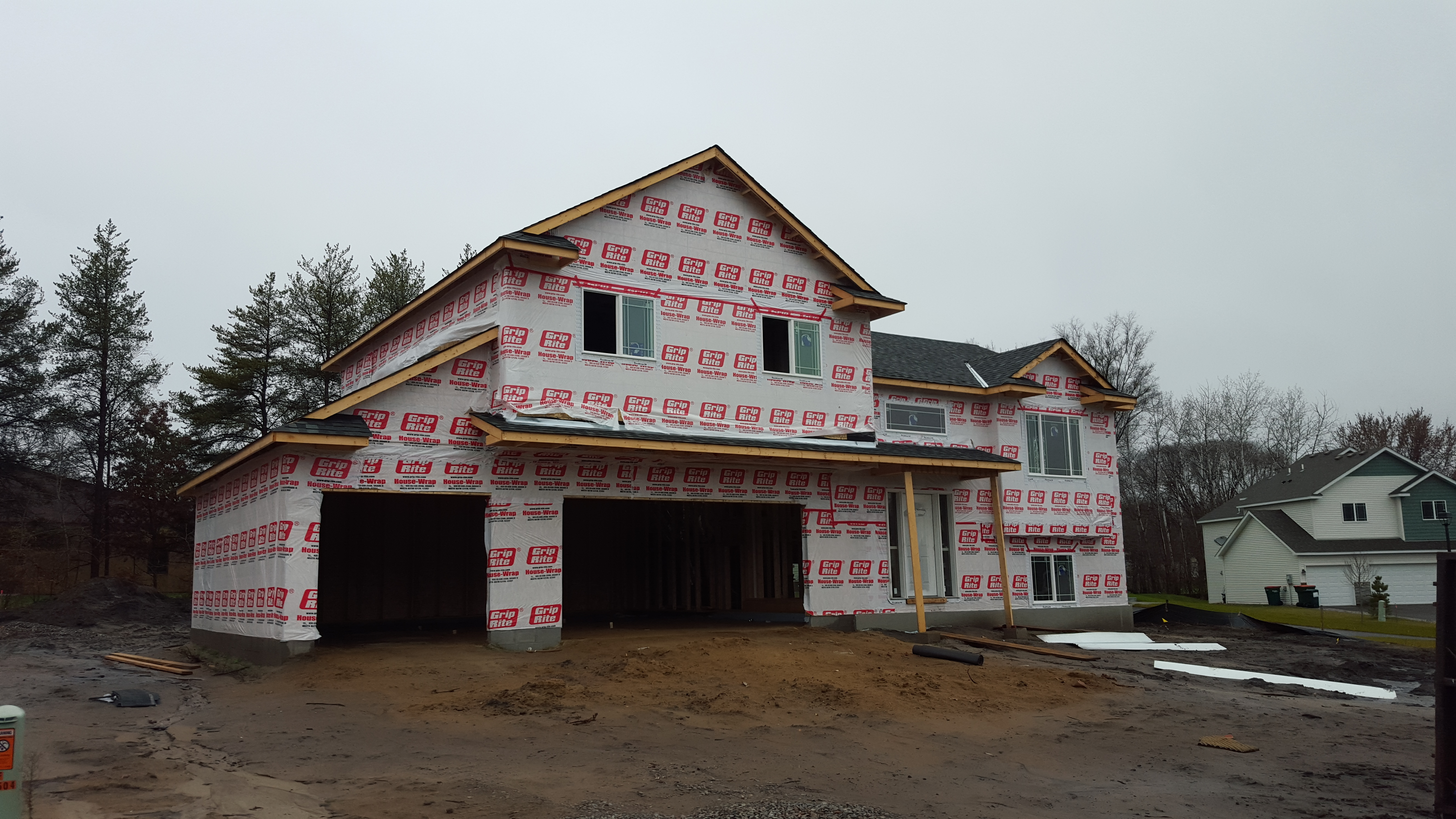 What's this? New construction homes in Blaine for under $300k
