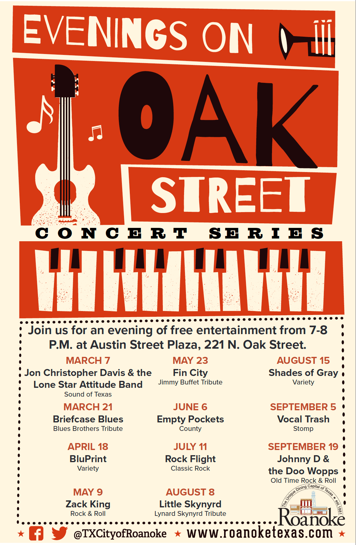 Evenings on Oak Street Concert Series