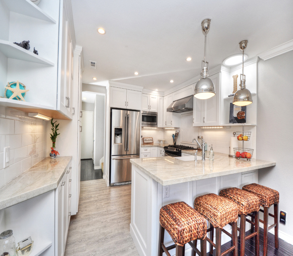 High End Kitchen in Rancho Niguel Two Story Home