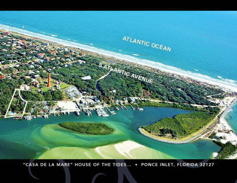 Ponce Inlet Beach House For Sale