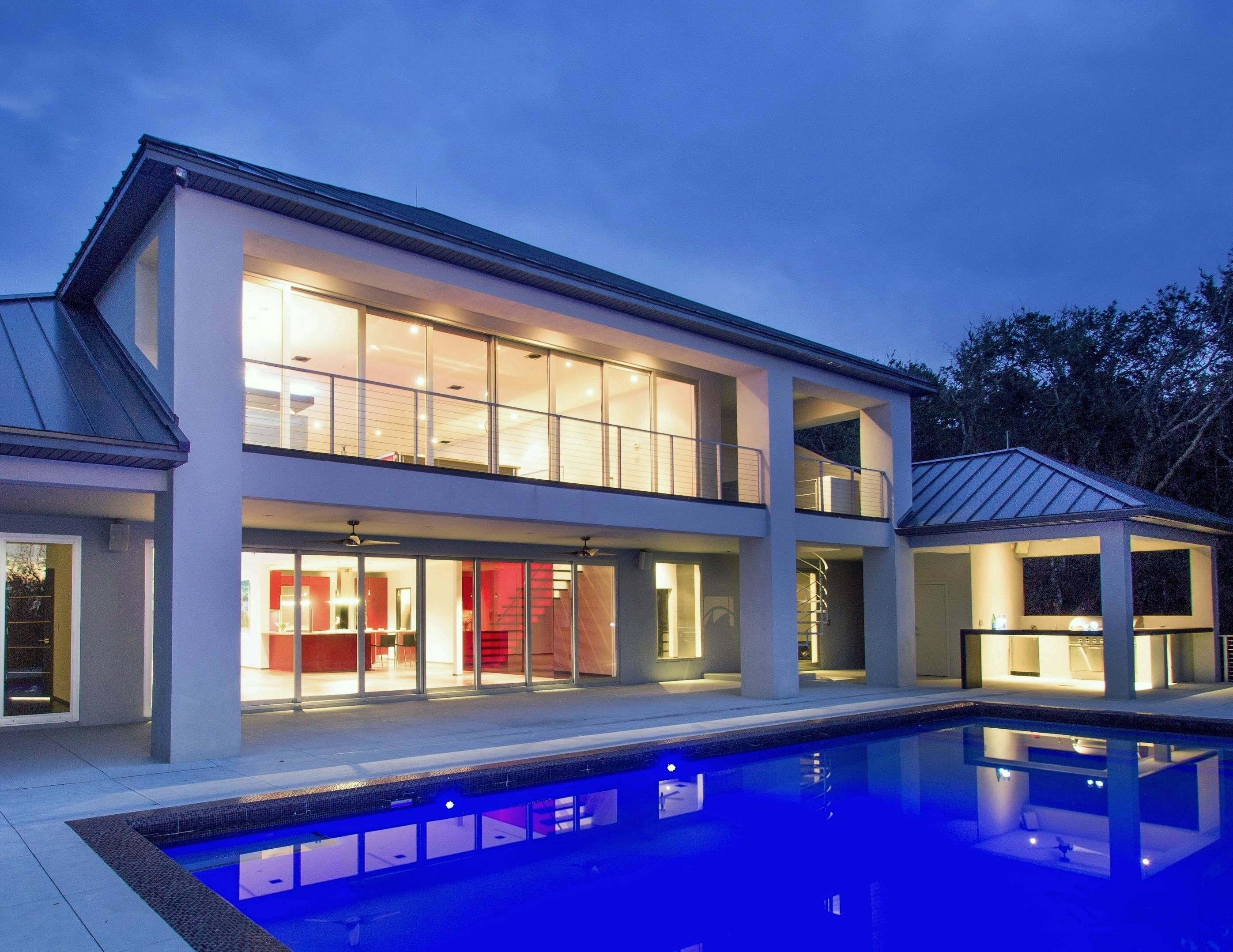 Incredible luxury modern central florida home for sale for Designer homes of central florida
