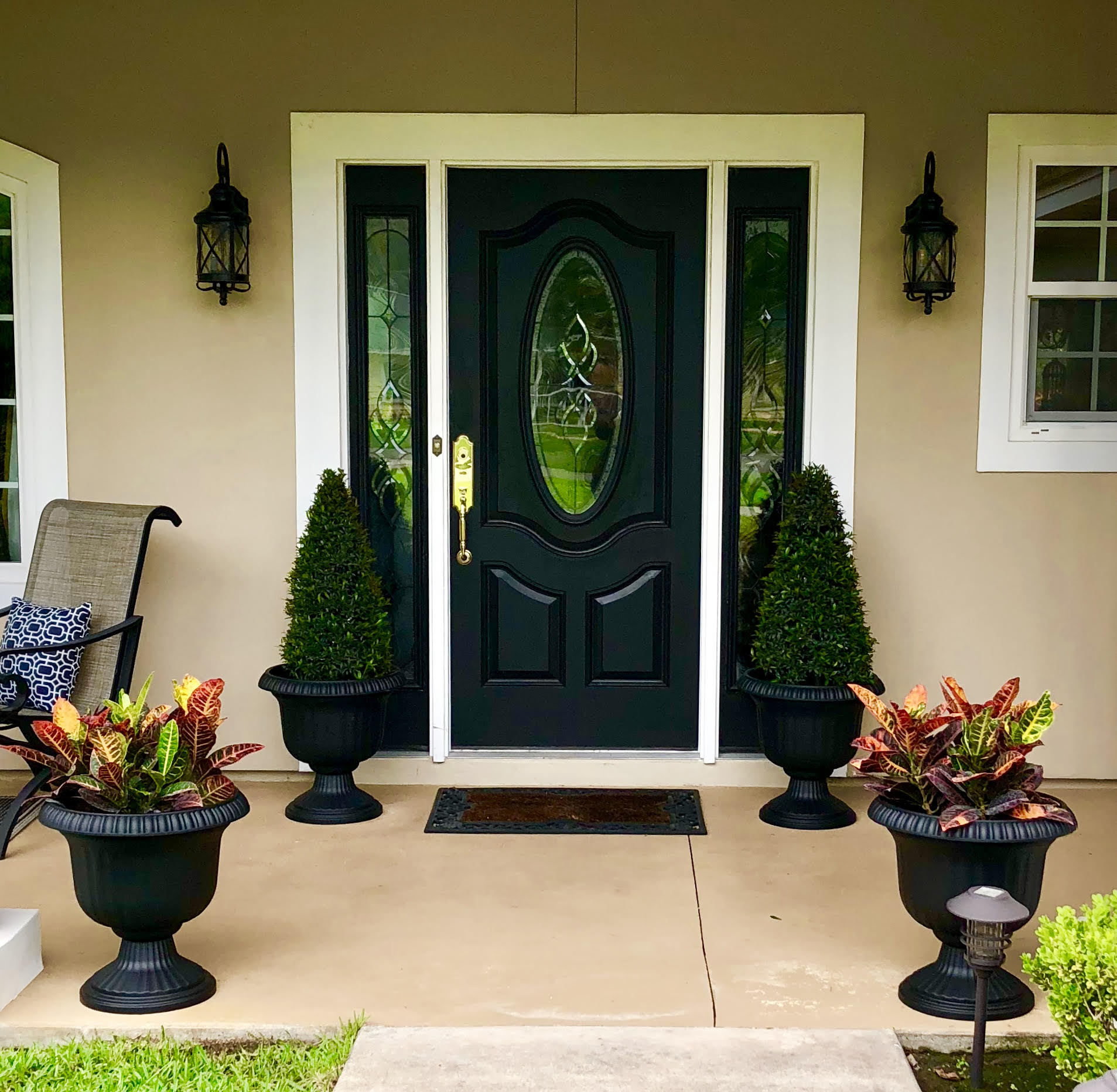 Front Porch Makeover Ii
