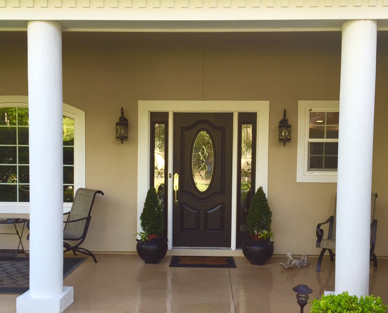 Bon Curb Appeal   Front Porch And Entry