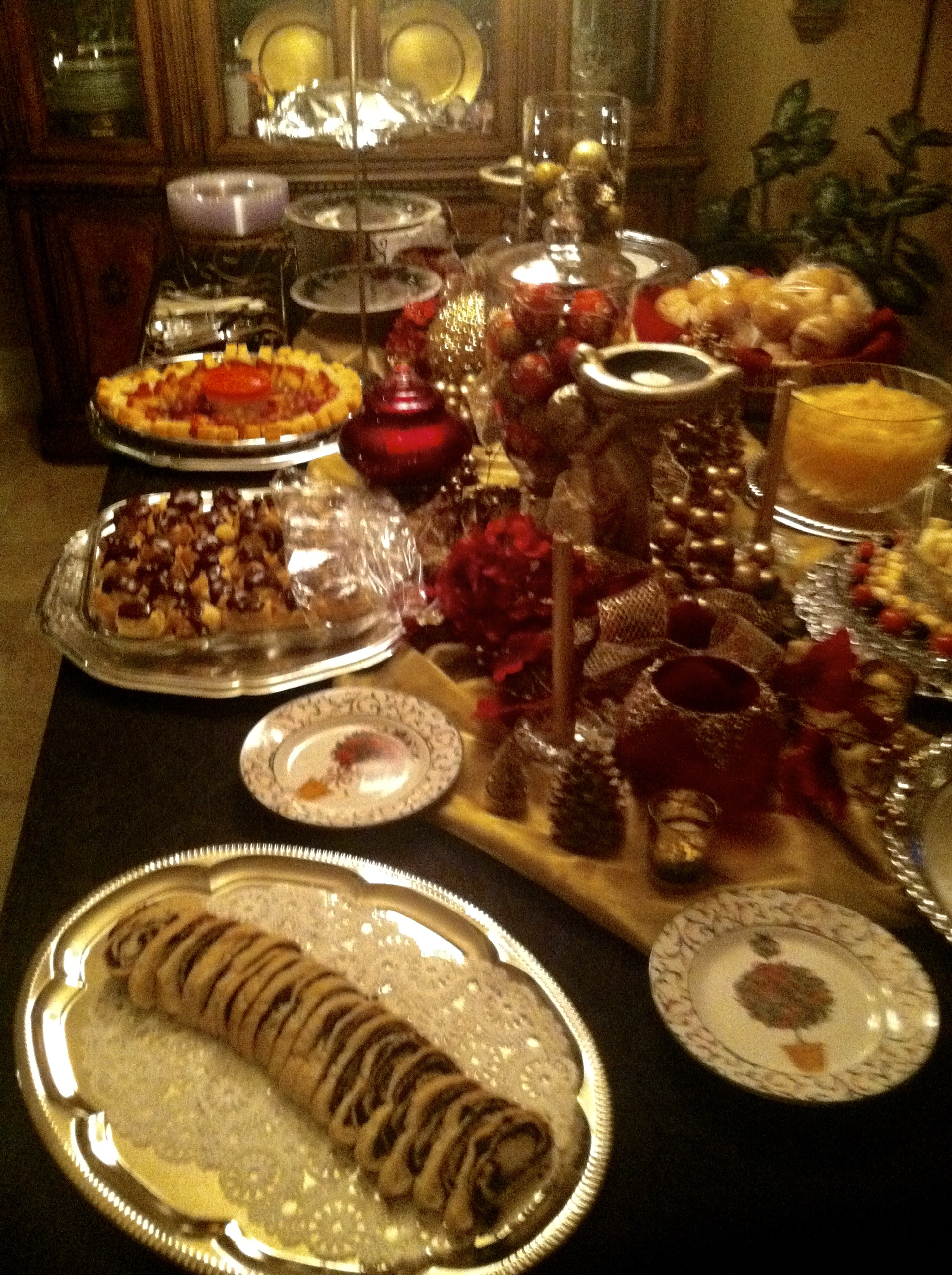 Joyce Marsh Christmas Buffet