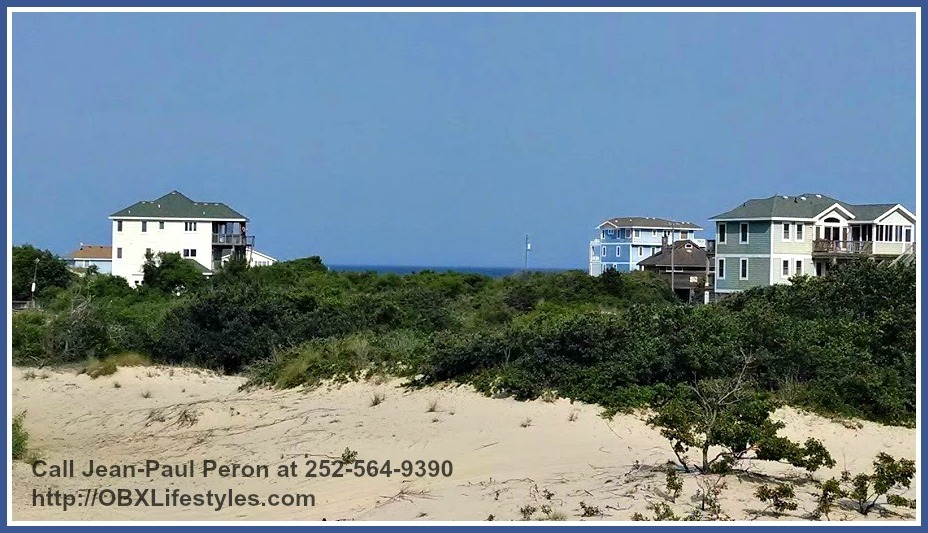 If you're looking for an Outer Banks NC lot for sale with a bigger acreage, then you don't have to look far for the adjacent lot is also up for sale!