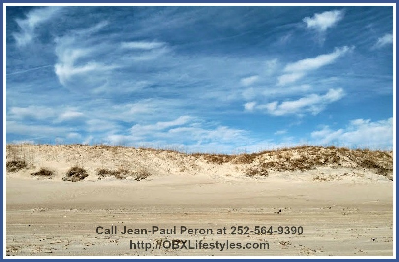This oceanfront Outer Banks NC lot for sale offers 0.64 acres of land.