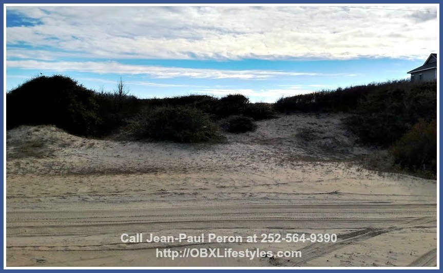Building your dream home on this oceanfront Outer Banks NC lot for sale means maximizing the perks of living by the beach.