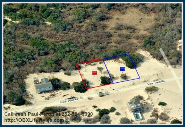 This lot for sale on the Outer Banks NC is perfect for building your and your loved ones awesome dream beach home.
