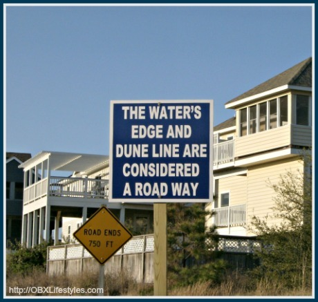 You will never have to worry about driving in Corolla Outer Banks NC for there are lots of road signs ready for both guests and residents.