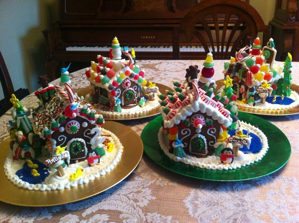 Home For The Holidays Gingerbread Style