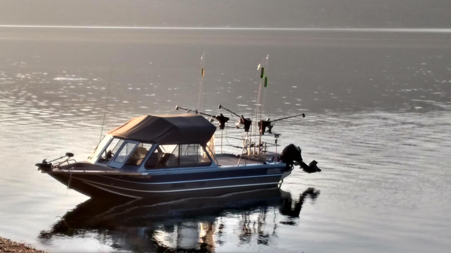 Lake Coeur d'Alene fishing charter license and business for sale