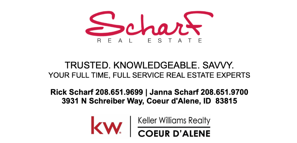 Scharf Real Estate Coeur d'Alene Idaho