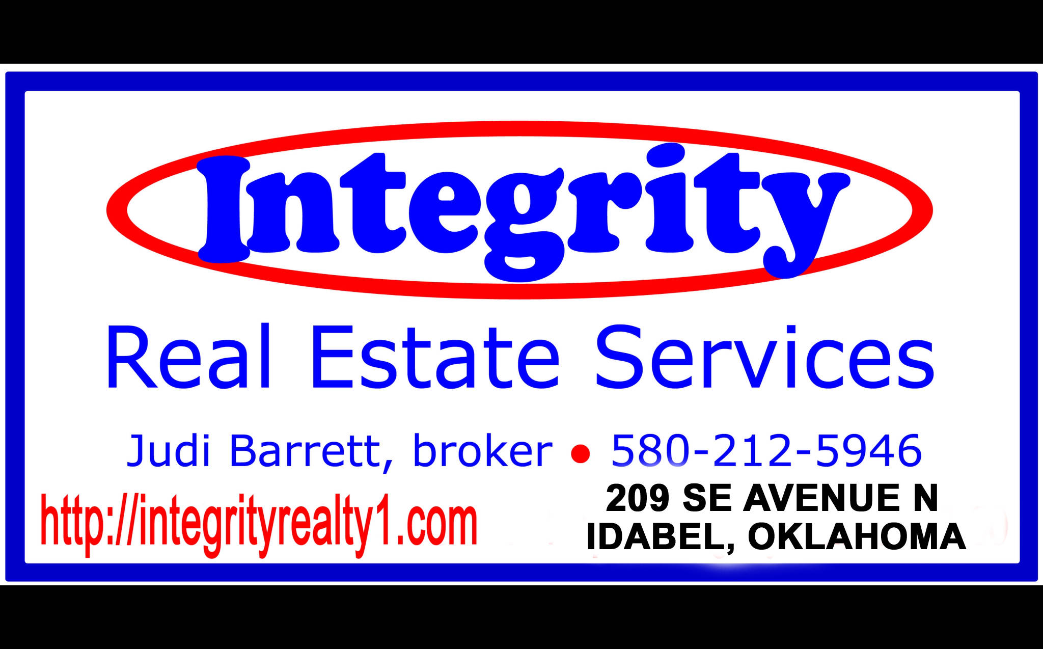 Integrity Real Estate Services Llc Idabel Oklahoma