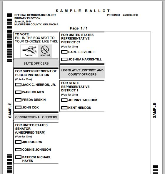 Oklahoma Election Board New Online Voter Tools - Look up Registration