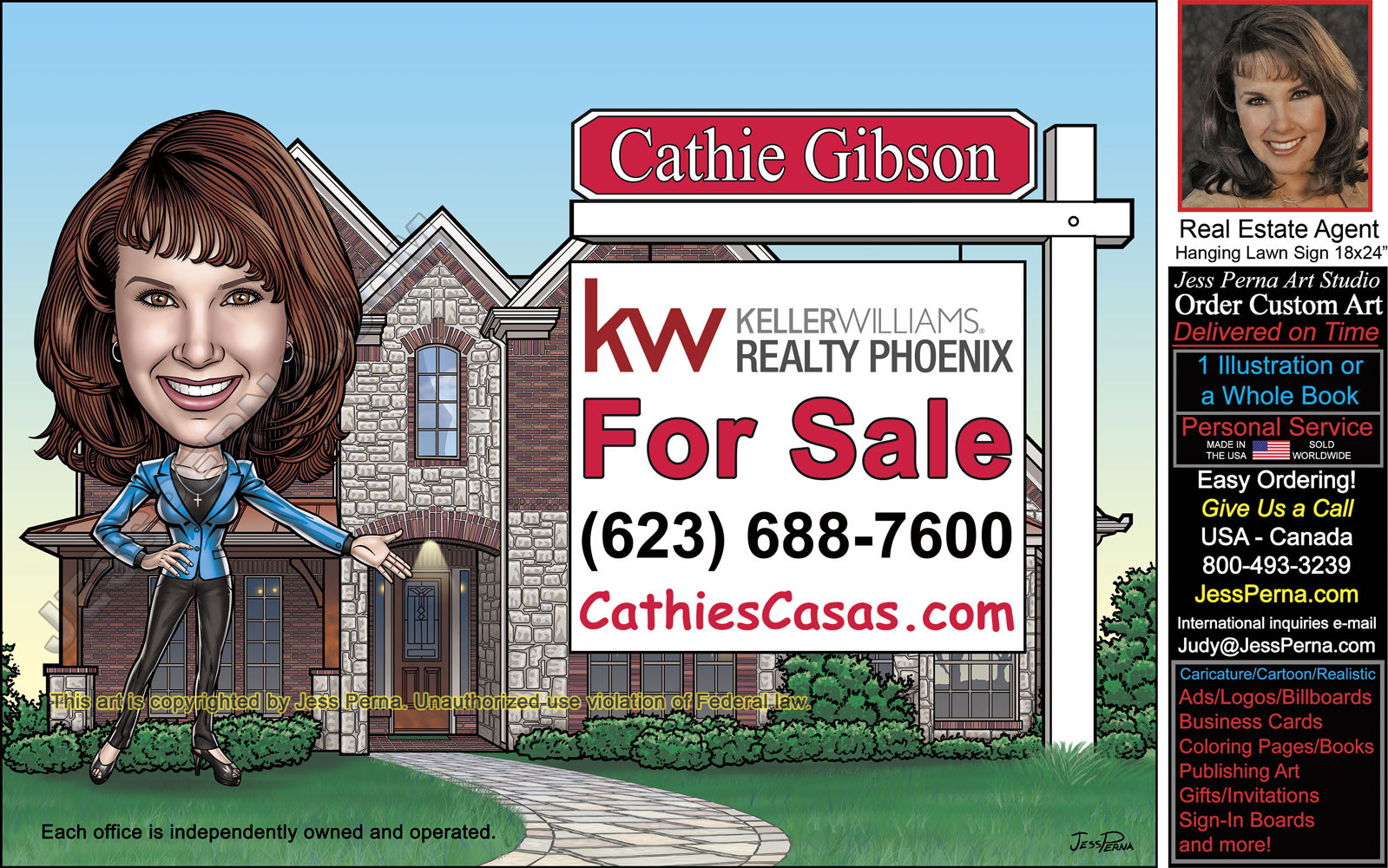 KW Real Estate Agent Ad
