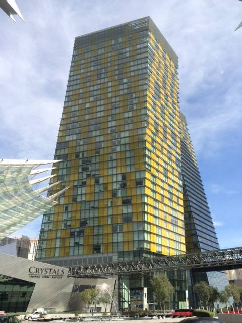 Veer Towers in CityCenter Las Vegas-Located on The Strip