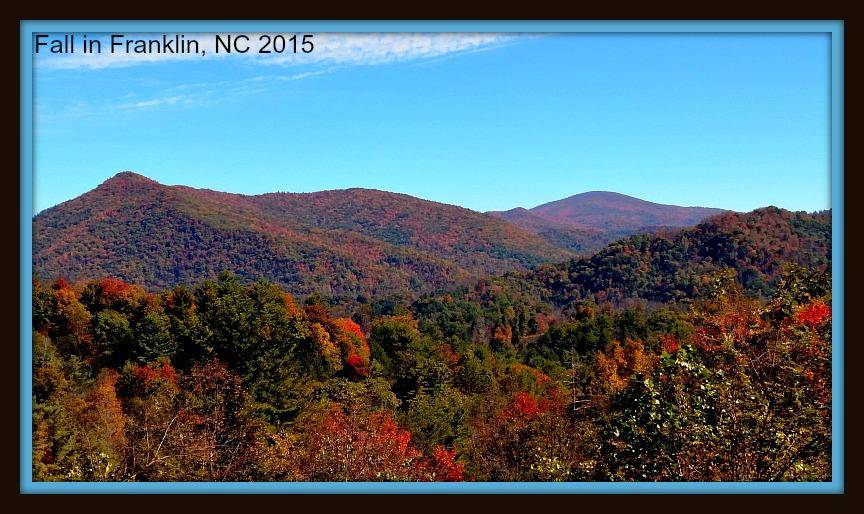 Fall in Franklin, NC 2015