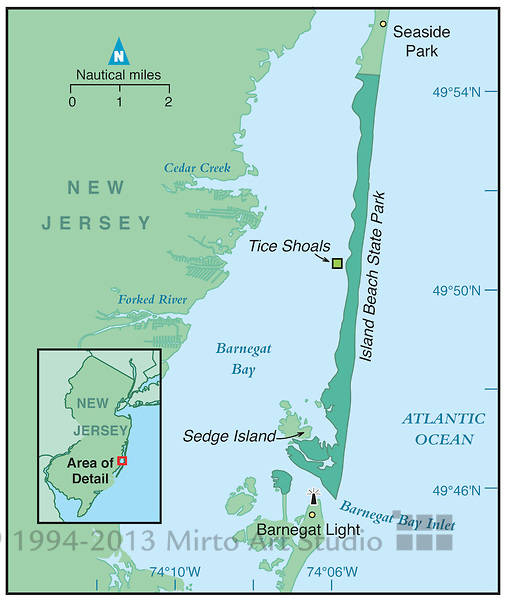 Island Beach State Park Nj: Petition To Keep Tices Shoal Free For Boaters