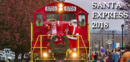 Blue Ridge Scenic Railway Santa Train