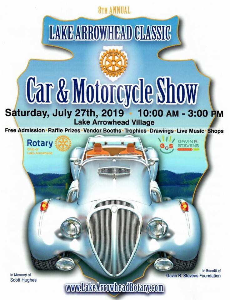 Lake Arrowhead Classic Car & Motorcycle Show