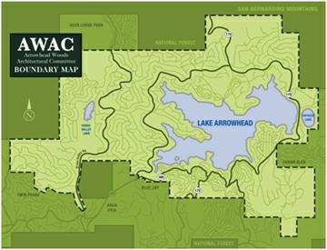 Lake Arrowhead Map