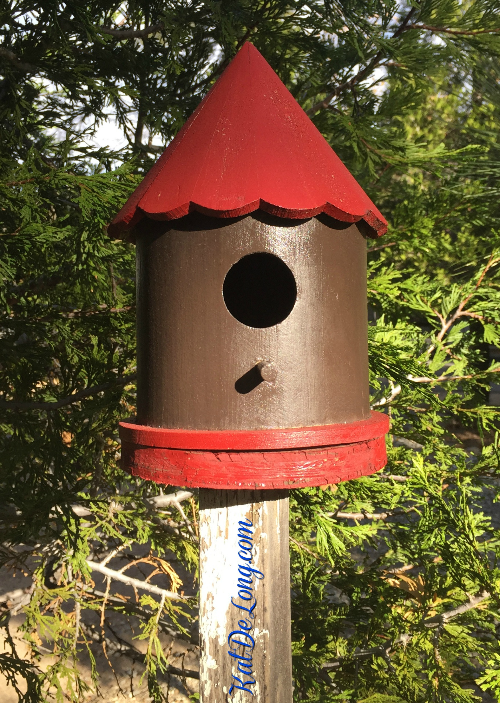 Birdhouses in lake arrowhead