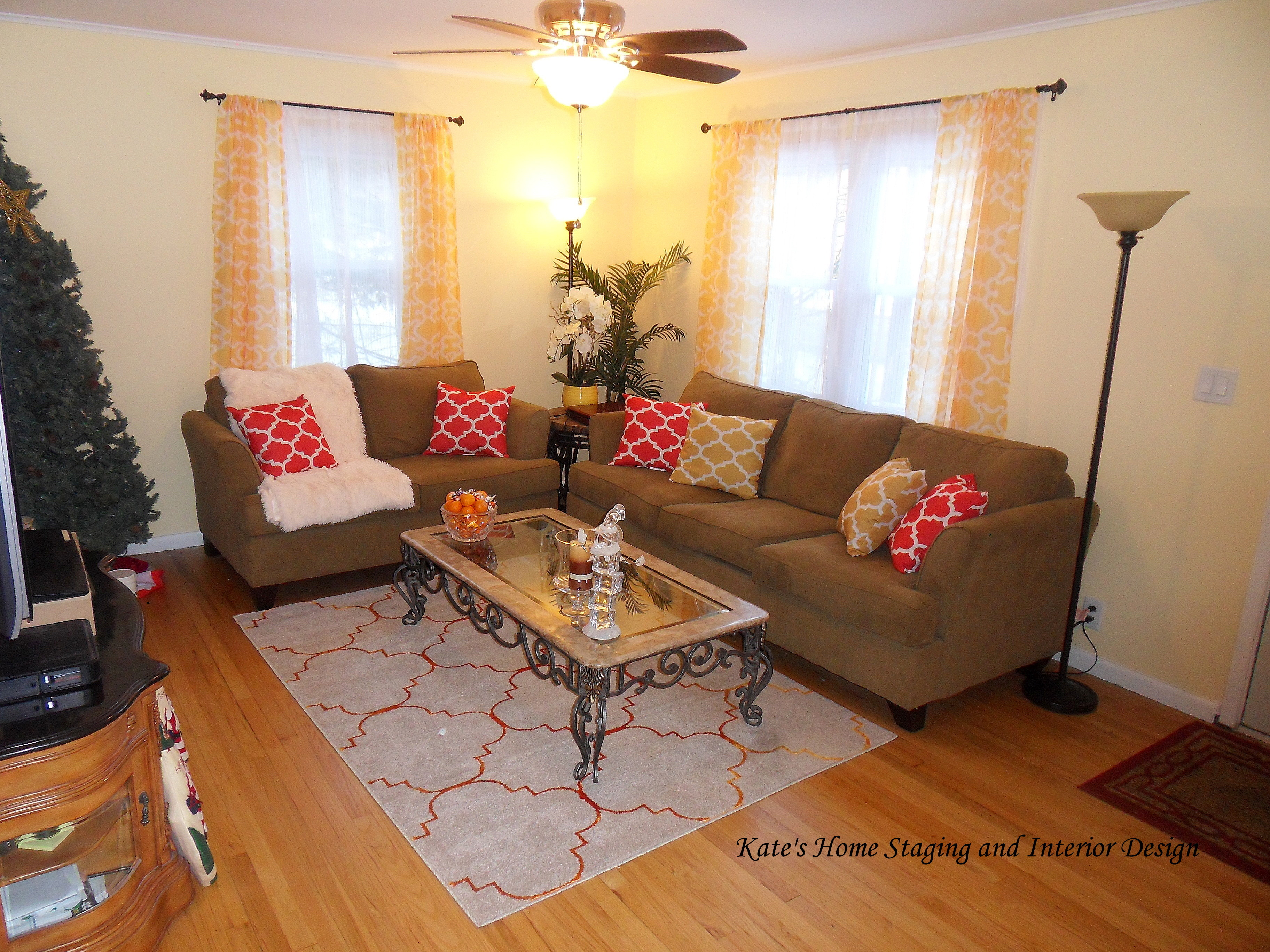 Living Room design by kates home staging