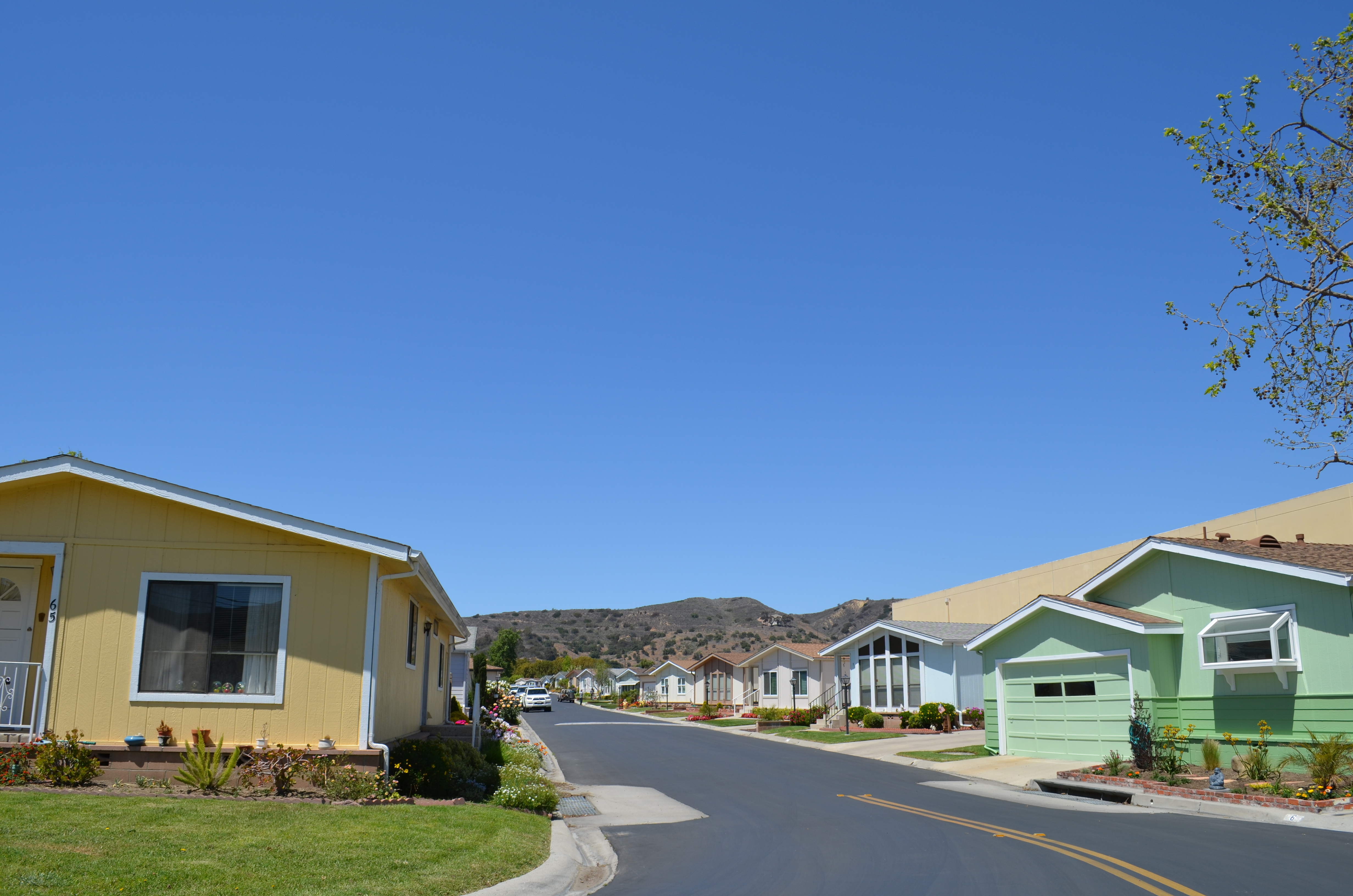 View of Hillview Estates Homes