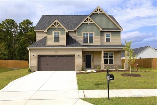 H h homes new construction in carolina forest for Building a house in nc