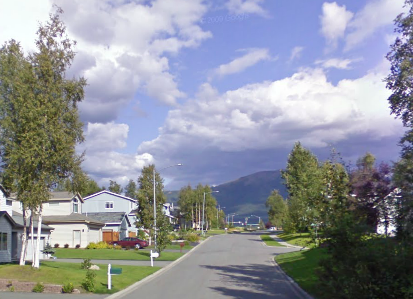 Homes in Eastbrook in Anchorage Alaska