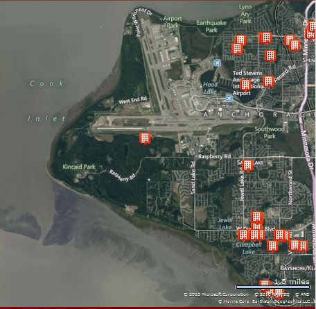 Condos near Ted Stevens Anchorage International Airport in Anchorage Alaska