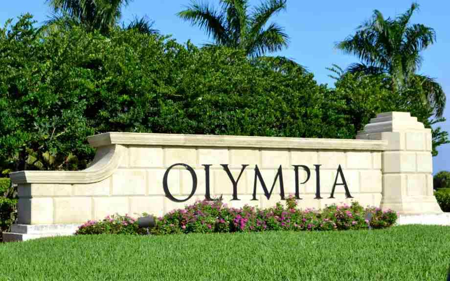 Homes In Olympia In Wellington Florida