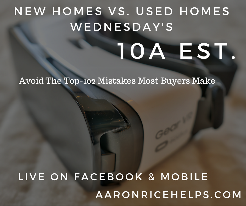 New Homes Vs Used Homes Wednesday 39 S Top 102 Mistakes M
