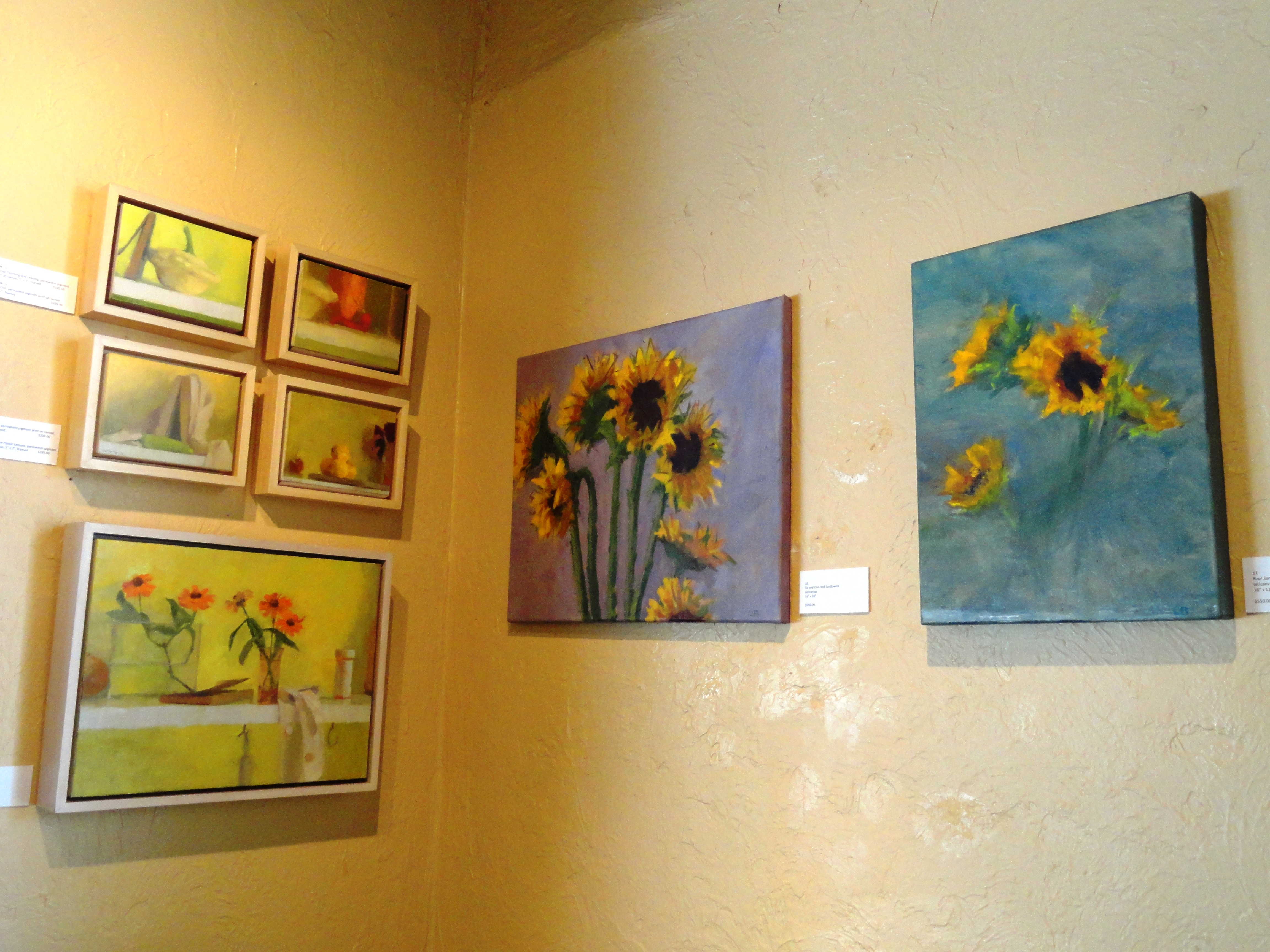 Works by artist Lucy Barber