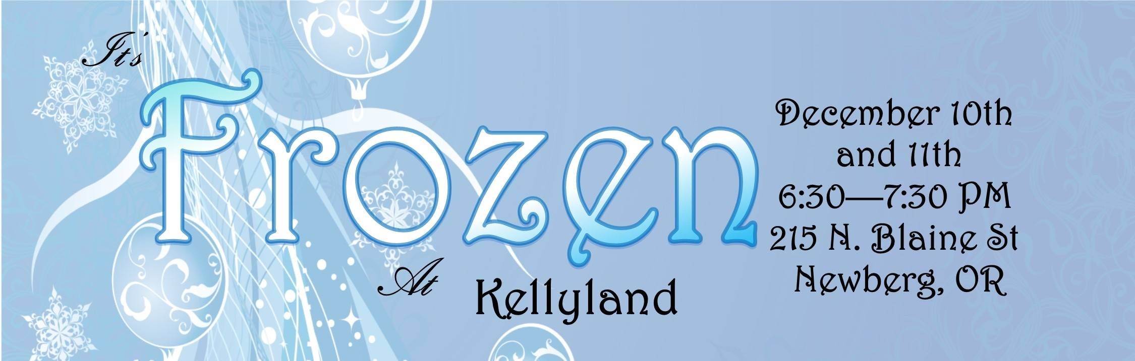 Frozen at Kelly Land