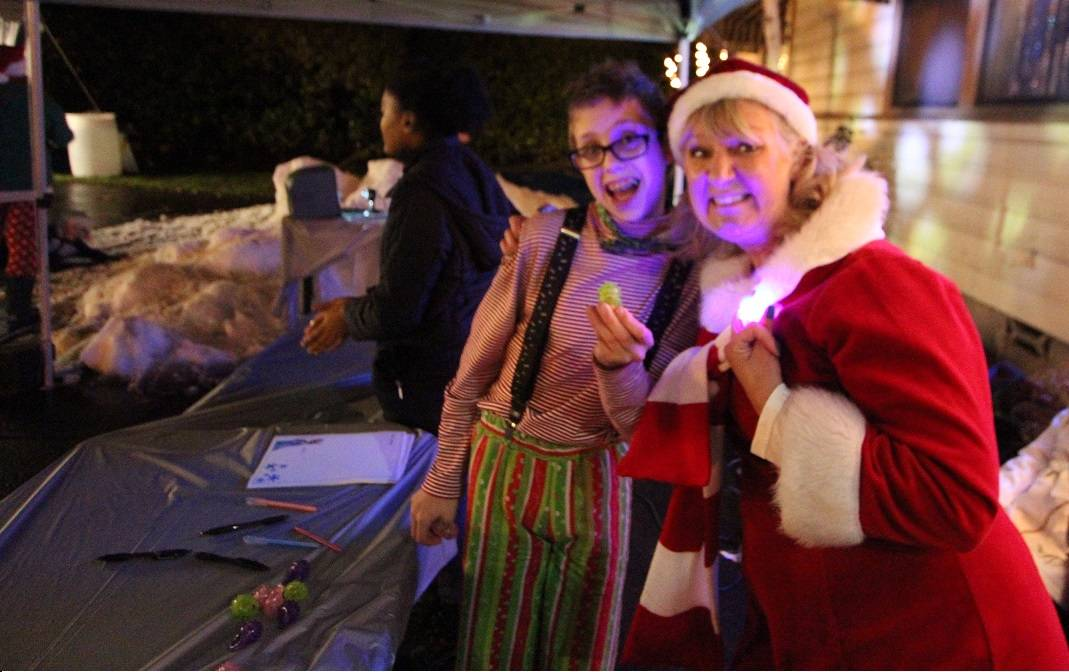 Our Volunteers at Frozen at Kelly Land