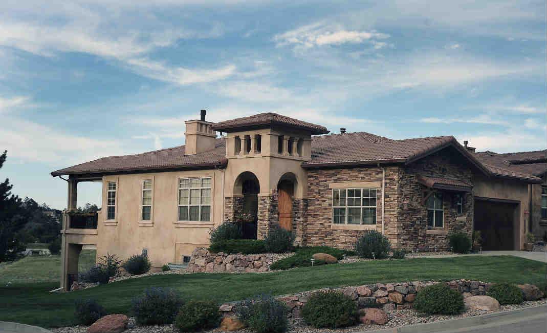 Colorado Springs Designer Patio Home For Sale - Colorado springs luxury homes