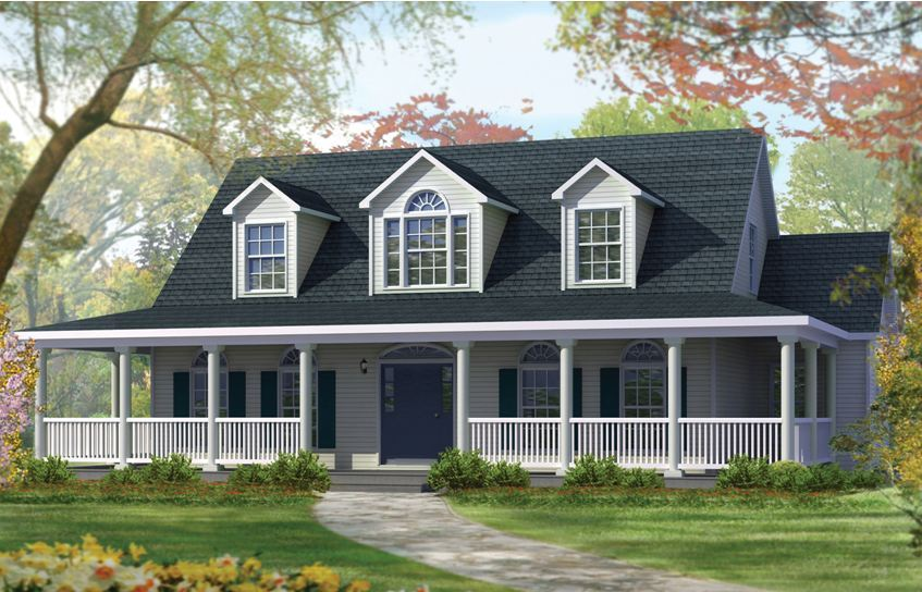What 39 s your style meeting it with modular for Cape style modular homes