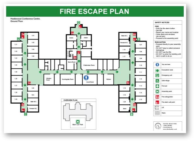 Office Emergency Evacuation Plans Maps Images