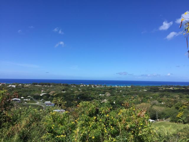 "Lot offer ""big sky"" wide open views of the turquoise Caribbean sea."