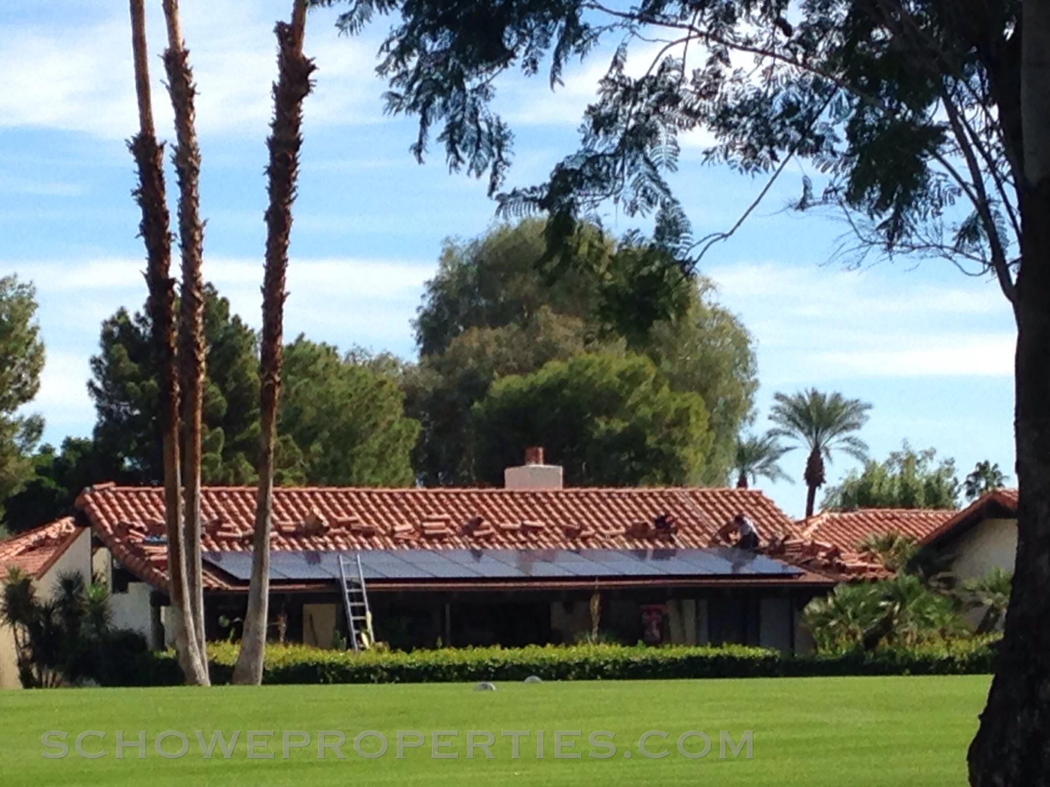 Solar energy in La Quinta
