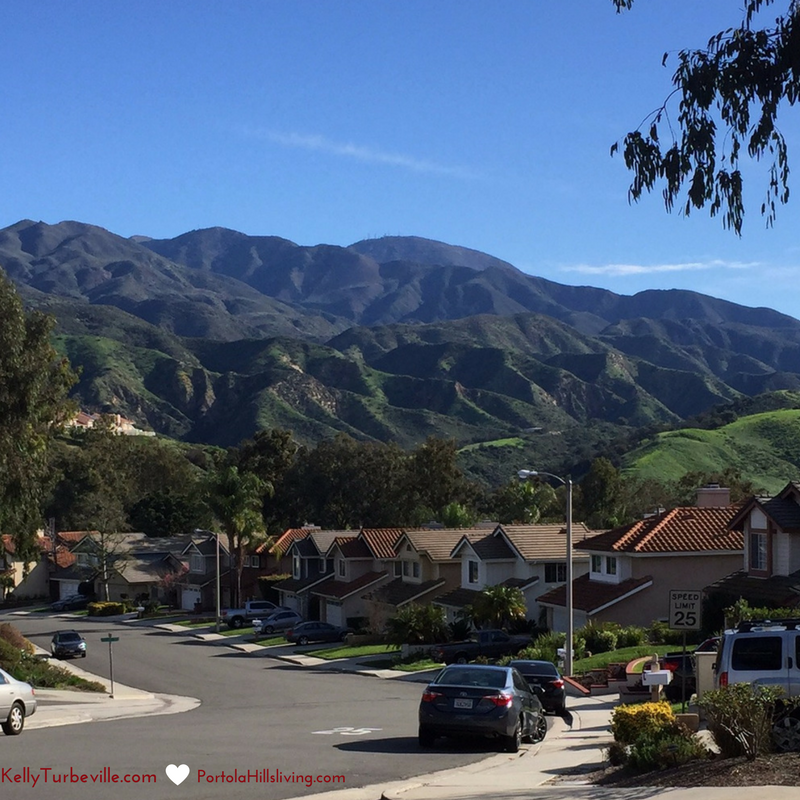 Portola Hills View of Saddleback Mountains by Realtor Kelly Turbeville