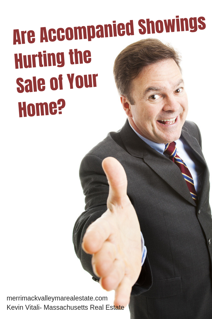 are accompanied showings hurting the sale of your home